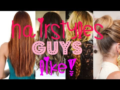 Video Hairstyles Guys LOVE (and Hate!) download in MP3, 3GP, MP4, WEBM, AVI, FLV January 2017
