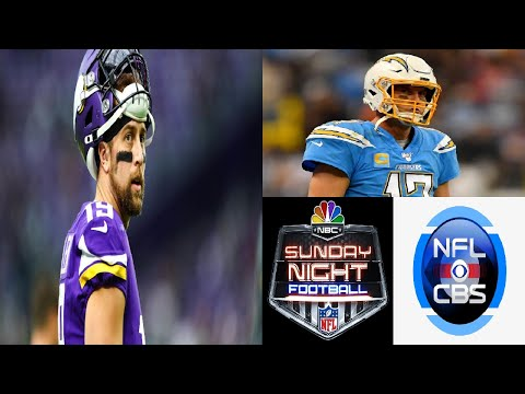 Adam Thielen Out vs. Seahawks and Vikings vs. Chargers gets flexed out of Sunday Night Football!!!