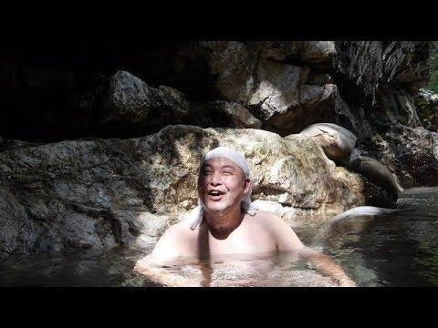 鐘釣温泉「河原露天風呂(無料)」富山県黒部市【野湯】