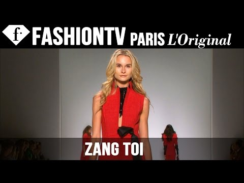 fashiontv - http://www.FashionTV.com/videos LONDON CITY - See Zang Toi's new collection for Spring/Summer 2015 on the runway at London Fashion Week. For franchising opportunities with FashionTV, CONTACT...