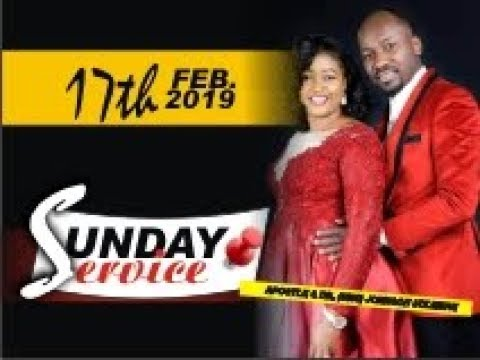 live! 2nd Service (Sun. 17th Feb. 2019) with Apostle Johnson Suleman