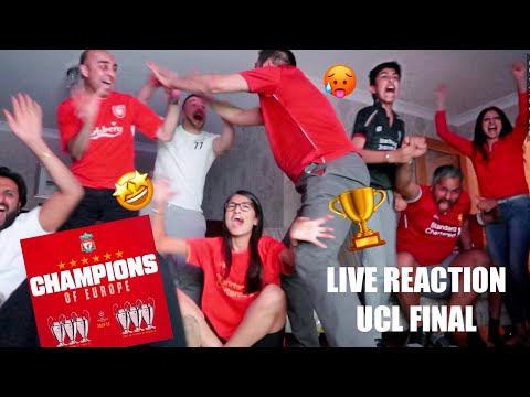 REACTING TO THE CHAMPIONS LEAGUE FINAL🏆 !!!! IF YOU'RE A LIVERPOOL FAN WATCH THIS 🔴