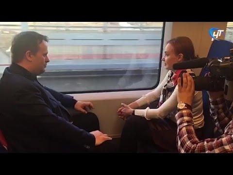 Врио губернатора Новгородской области опробовал «Ласточку»