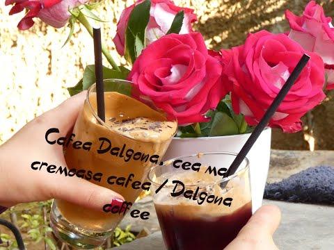 Cafea Dalgona, cea mai cremoasa cafea / Dalgona coffee (CC Eng Sub) | By Stela Stratulat