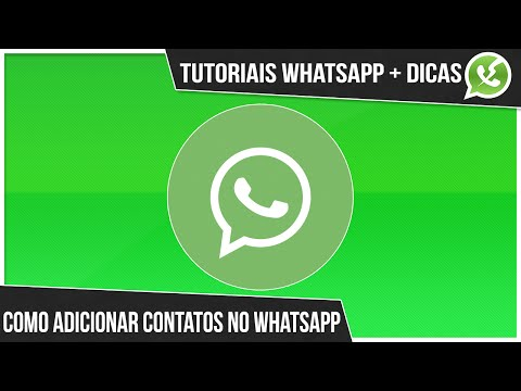 Baixar whatsapp - como adicionar contatos no whatsapp atualizado [2015/2016]