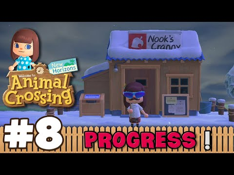 OUR NEW SHOP (This part is recorded after Rishabh's Visit) | Animal Crossing New Horizon #8 In Hindi