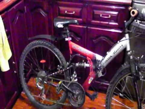HR- 260FS Honda Racing Mountain Bike Review