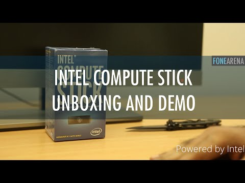 Intel Compute Stick Unboxing and Demo