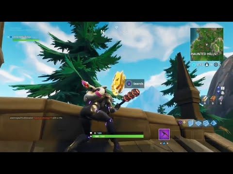 Follow Treasure Map Found In Snobby Shores fortnite