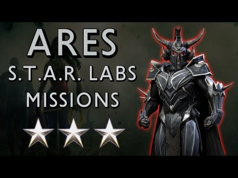ares - Remember to select 720p or 1080p HD◅◅ The Final S.T.A.R. LABS Missions in Injustice: Gods Among Us, Missions 232-240 for Ares and I get 3 stars ✩✩✩ for al...