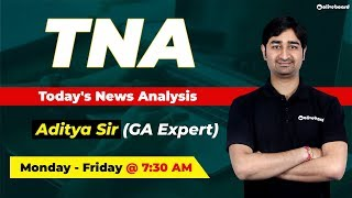 Current Affairs | Daily News - October 16 | IBPS PO | IBPS Clerk | SSC | Today's News Analysis