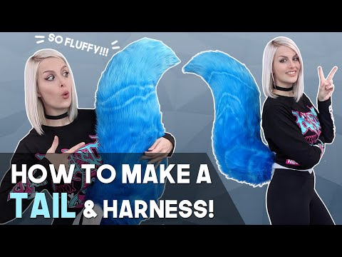Cosplay Tail & Harness Tutorial