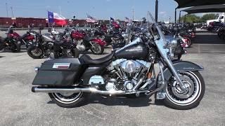 8. 652374 - 2005 Harley Davidson Road King   FLHRI - Used motorcycles for sale