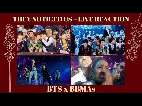 BTS BBMAs 2018: JIMIN FLIRTING + GOT JUNGKOOK SHY + LIVE BTS FAKE LOVE REACTION