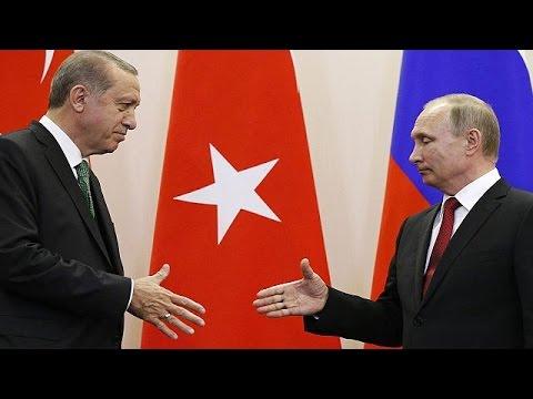 Πούτιν-Ερντογάν: Δημιουργία ζωνών ασφαλείας στη Συρία