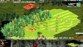 VaneLove vs Sơ Luyến - Random Trận 5 [ngày 24/6/2015], game đế chế, clip aoe, chim sẻ đi nắng, aoe 2015