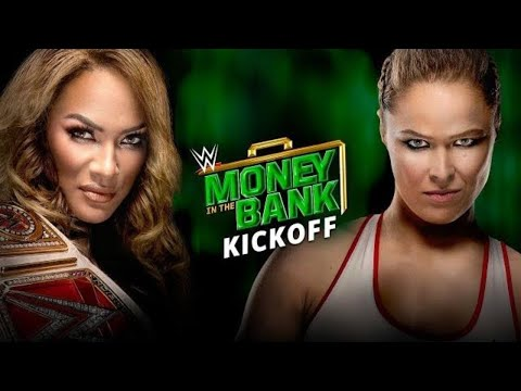 WWE Money In The Bank Kickoff: June 17, 2018