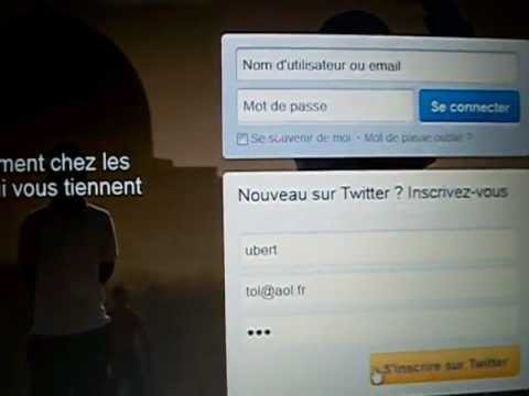 comment s'inscrire twitter