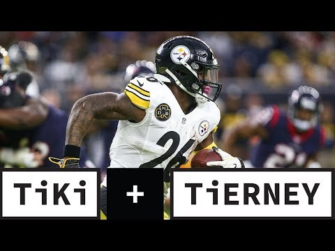 Video: Is Le'Veon Bell out of shape? | Tiki and Tierney