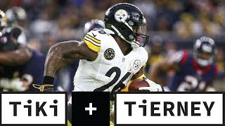 Is Le'Veon Bell out of shape?   Tiki and Tierney