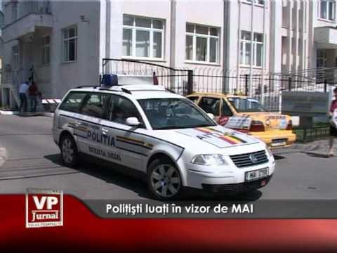 Poliţişti luaţi în vizor de MAI