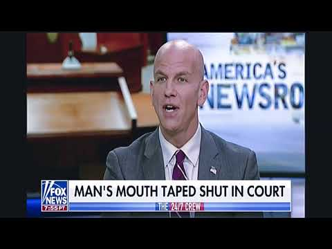 In Cleveland Court Judge Orders Mans Mouth Duct Taped Shut
