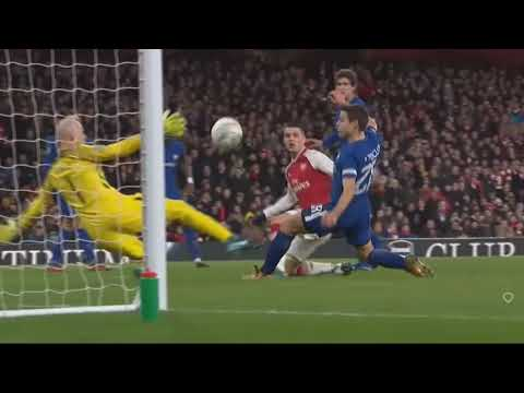 Arsenal vs Chelsea (2-1) All Goals & Extended Highlights - 24/01/2018