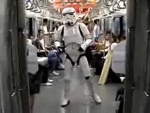 Star Wars Movie Day Throwback Thursday - Tokyo Dance Trooper