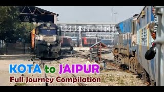 Kota India  City new picture : KOTA to JAIPUR : Delightful Train Journey on a Chilly Winter Morning [INDIAN RAILWAYS]