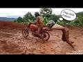 foto Kumpulan Video Lucu & Gagal Jumping Saat Mengendarai Motor Trail Borwap