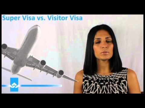Super Visa vs Visitor Visa Video