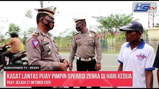 Kasat Lantas Pijay Pimpin Operasi Zebra di Hari Kedua