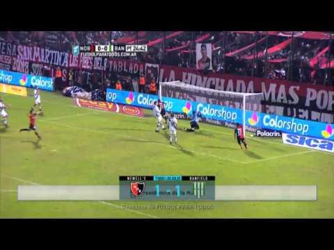 Todos los goles. Fecha 14. Primera División 2015.
