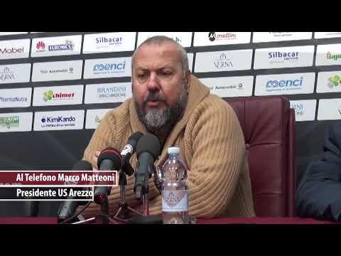 """Matteoni: """"ho la coscienza apposto, se qualche imprenditore mi aiuta l'Arezzo non fallirà"""""""