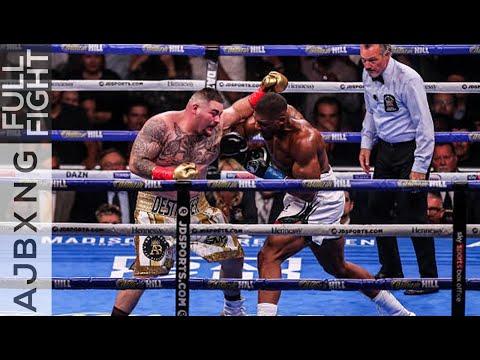 Full Fight | Anthony Joshua Vs Andy Ruiz (1) L