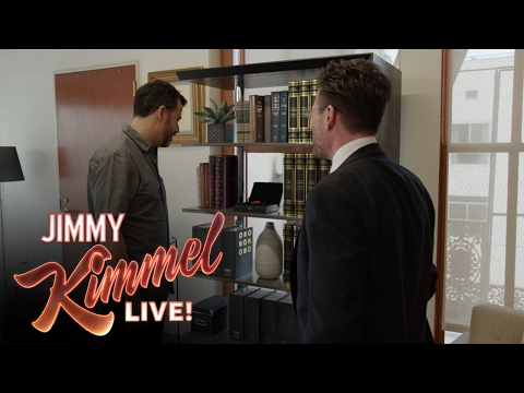 Jimmy Kimmel Meets the Man Who Spent 100k on a