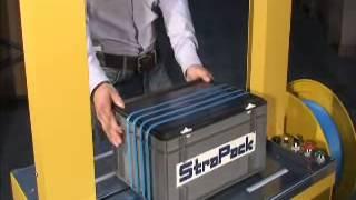 Strapack RQ 8 Αυτόματη τσερκομηχανή για πλαστικό τσέρκι