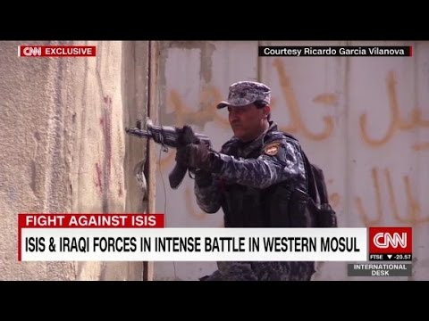 Video ISIS and Iraqi forces battle for Western Mosul download in MP3, 3GP, MP4, WEBM, AVI, FLV January 2017
