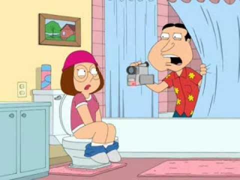 Family Guy Bathroom Family Guy Meg in The Bathroom