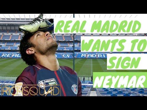 Real Madrid To Sign Neymar?   Transfer Rumors