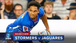 Stormers v Jaguares Rd.5 2019 Super rugby video highlights | Super Rugby Video Highlights