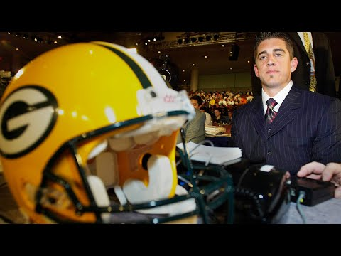 Video: Aaron Rodgers and the 21 Teams to Pass on Him | NFL 2005 Draft Story