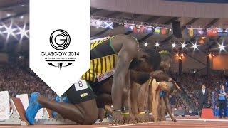 2014 Games - 100m Men's Final - Kemar Bailey-Cole Wins Gold