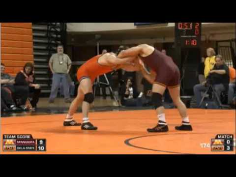 NCAA College Wrestling – 174 – Chris Perry (OSU) vs Logan Storley (MN)
