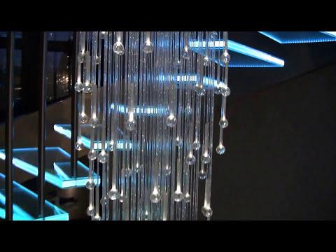 taśma LED RGB montaż w schodach, podświetlanie schodów LED RGB