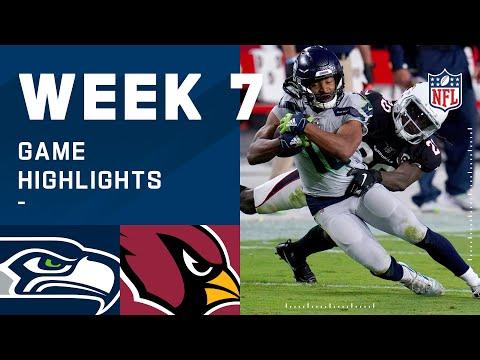Seahawks vs. Cardinals Week 7 Highlights | NFL 2020