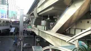 バンコク市内観光BTSアソーク駅