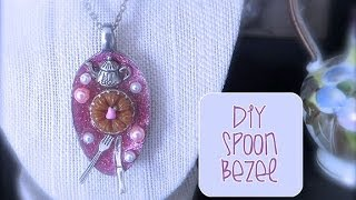 Chic and Cheap: DIY Spoon Bezel - YouTube