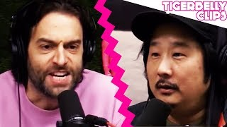 """I'M GETTING MAD!!!"" Chris D'Elia Confronts Bobby Lee About His Texting Habits"