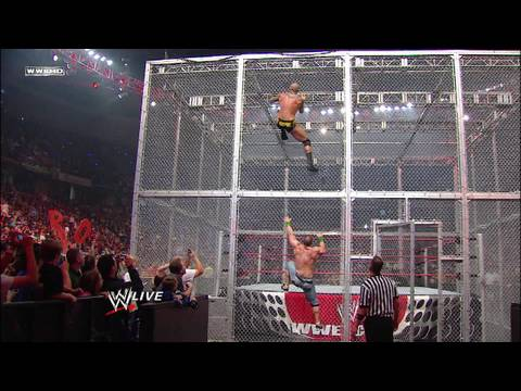 John Cena vs. Randy Orton, Big Show and Chris Jericho